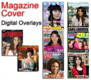 imagine making your own magazine covers for your client at your convention in Las Veags or Corporate event