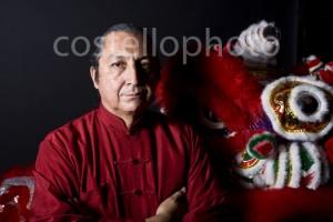 Phootgraphs at Kung Fu School of Shaolin Las Vegas  Lion Dance