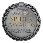 Black and white Spider Awards 11th year