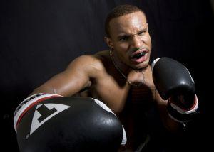 Las vegas photographer boxing